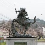 春日山城へ行く