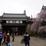 上田城へ行く