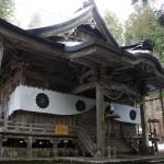 戸隠神社へ行く