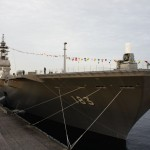 横浜にて護衛艦いずもが一般公開中