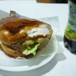くまポンギフト券を使ってボリューミーなハンバーガーを100円でゲット【THE BAKER TOKYO】